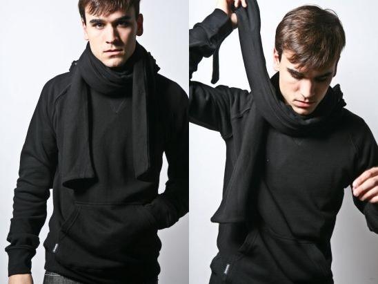 The Man In Black Black-scarf