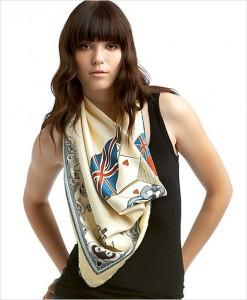 Choisir foulard en soie
