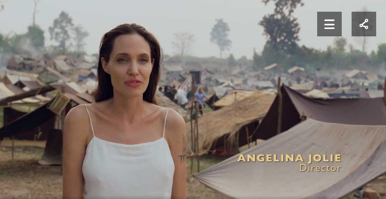 angelina jolie film khmers rouges