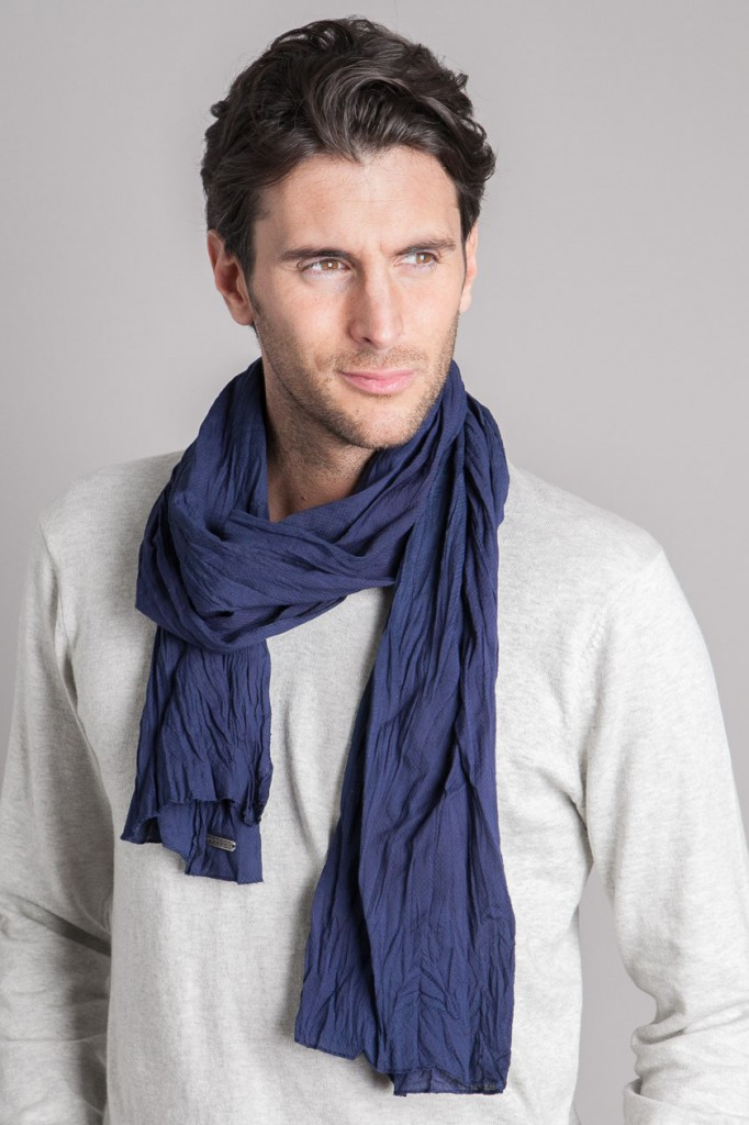 men scarf cotton